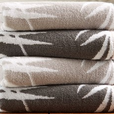 Bamboo Towel - Silver