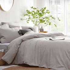 LY Stonehouse Plain Duvet Set - Grey