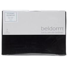 Percale 200 Housewife Pillowcase - Black