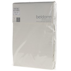 Percale Flat Sheets - Ivory