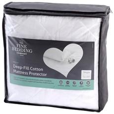 Deep Filled Cotton Mattress Protector