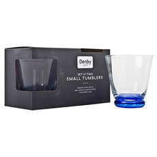 Denby Imperial Blue Small Tumbler - Set of 2