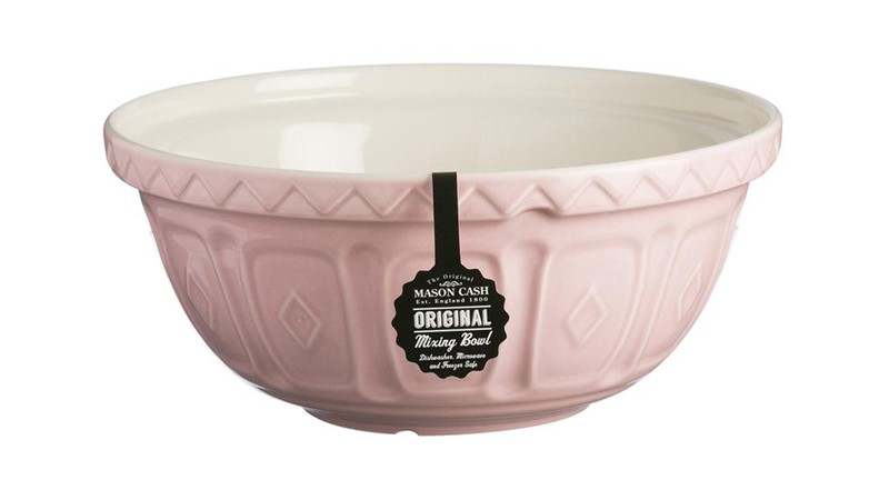 Mason Cash Colour Mix S12 Mixing Bowl - Powder Pink