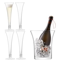 LSA Prosecco Serving Set