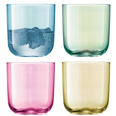 LSA Polka Tumblers (Set of 4) - Pastel