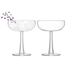 LSA Gin Coupe Glass (Set of 2) - Clear