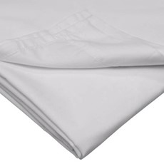 500 Thread Count Housewife Pillow Case Pair - Platinum