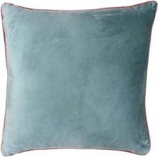 Meridian Square Cushion - Mineral & Blush