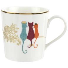 Sara Miller Feline Friends Mug