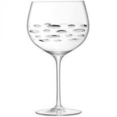 Shoal Cut Balloon Gin Glass