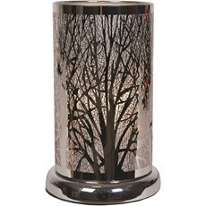 Silver Forest Design Table Lamp