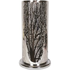 Silver Forest Design Table Lamp - Large