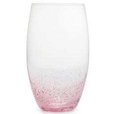 Simply Home Bubble Hi-Ball Glasses Pink - Set 4