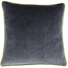 Meridian Square Cushion - Moss & Charcoal