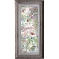 Roseum Coral Framed Print - Stone