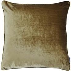 Luxe Velvet Square Cushion - Gold