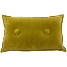 Bobble Cushion - Ochre