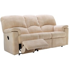 G Plan Chloe Fabric 3 Seater Recliner Sofa (Right)