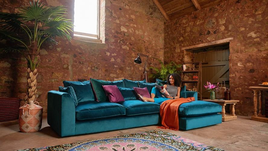 Maxine  Corner Sofa Chaise Right
