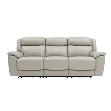 Repose 3 Seater Recliner Sofa - Leather