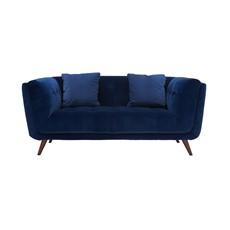 Siena Velvet Small Sofa