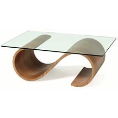 Tom Schneider Swirl Rectangular Coffee Table