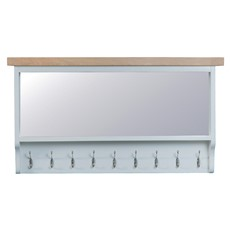 St Ives Large Hall Bench Top - Grey