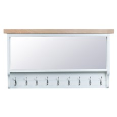 St Ives Large Hall Bench Top - White