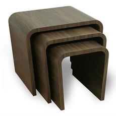 Tom Schneider Wave  Nest of Tables