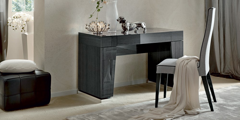 sleek bedroom furniture. our bedroom buyer has come up trumps with the pesaro range a collection of stunningly stylish sleek grey chests wardrobes bedframes and dressers furniture
