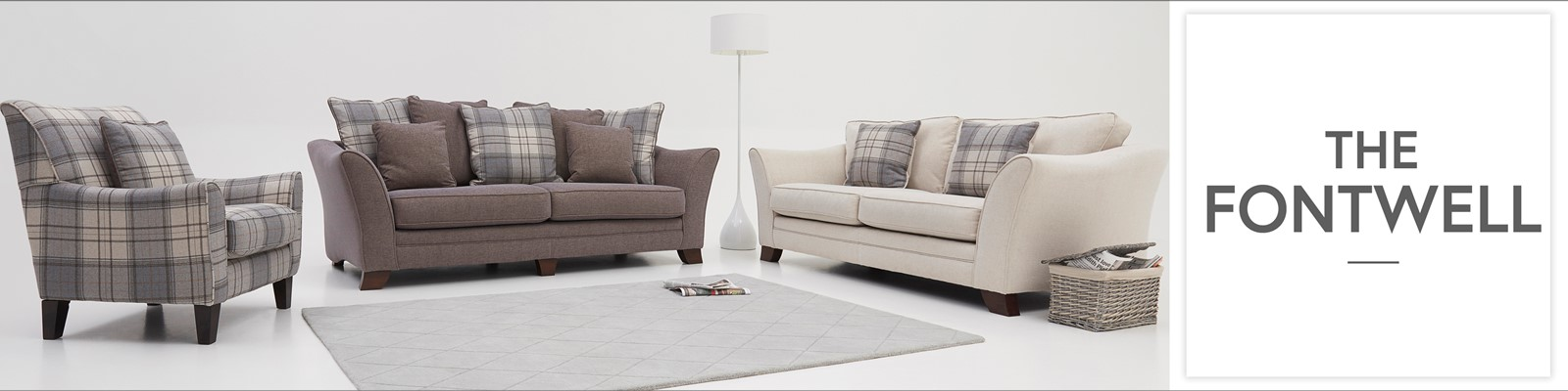 Sterling Sofa Twill Fabric Modern Sectional