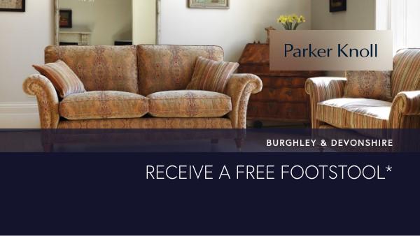 Parker Knoll Free footstool promo link