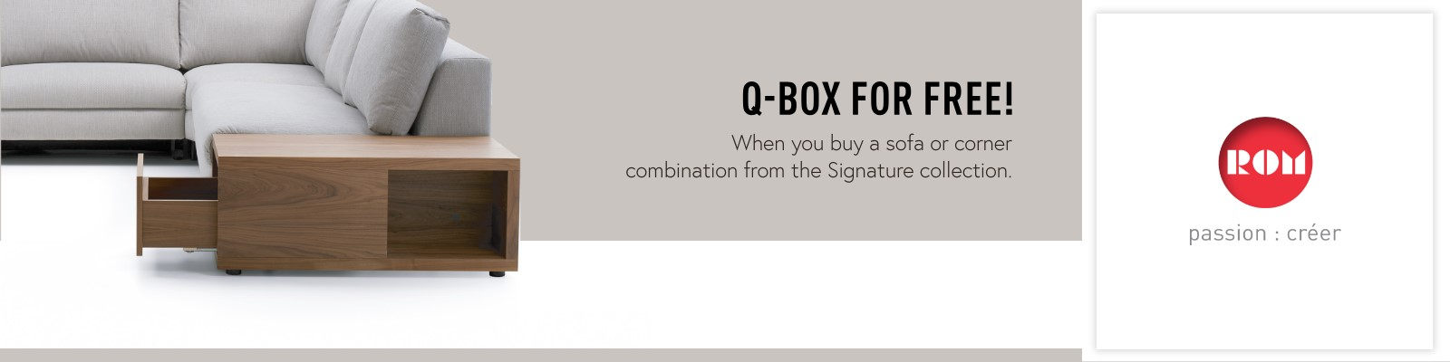 ROM qbox brand page