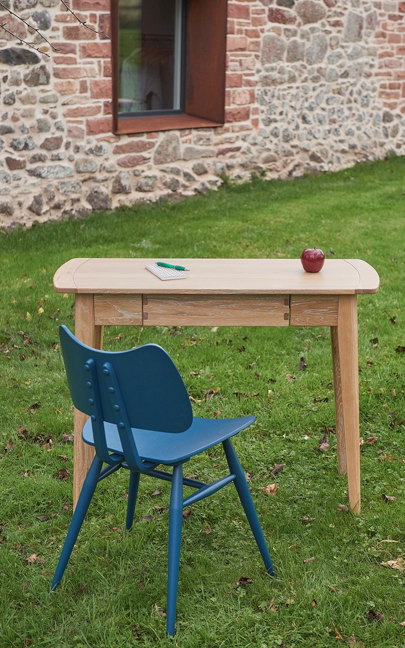 Ercol Butterfly chair and desk
