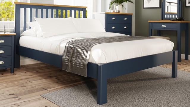 Stanton Blue Bedroom