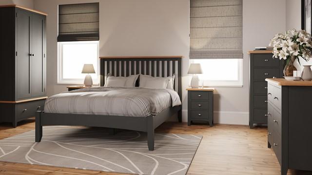 Drayton Bedroom Grey