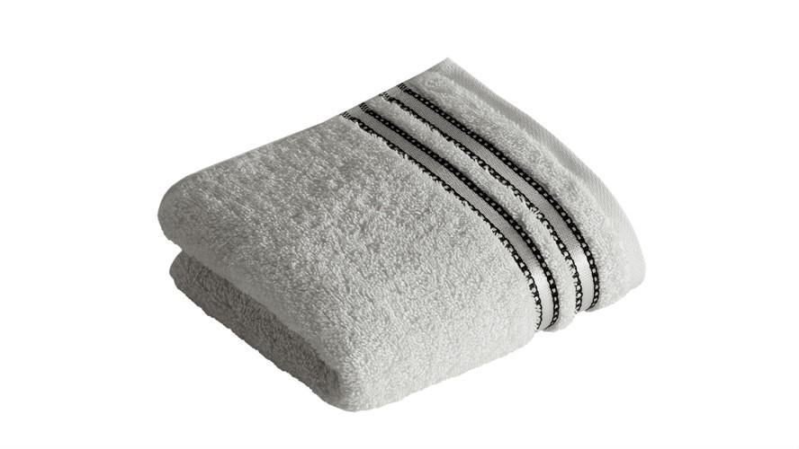 Vossen Cult De Luxe Towel - Light Grey
