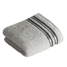 Vossen Cult De Luxe Towel - Light Grey