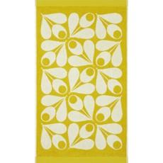 Orla Kiely Acorn Cup Hand Towel - Dandelion