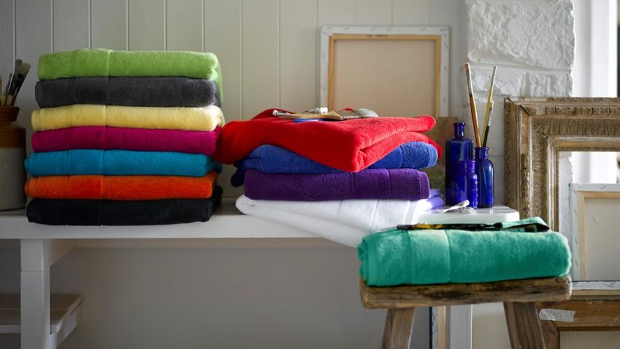 Christy Prism Towel - Absinthe Green