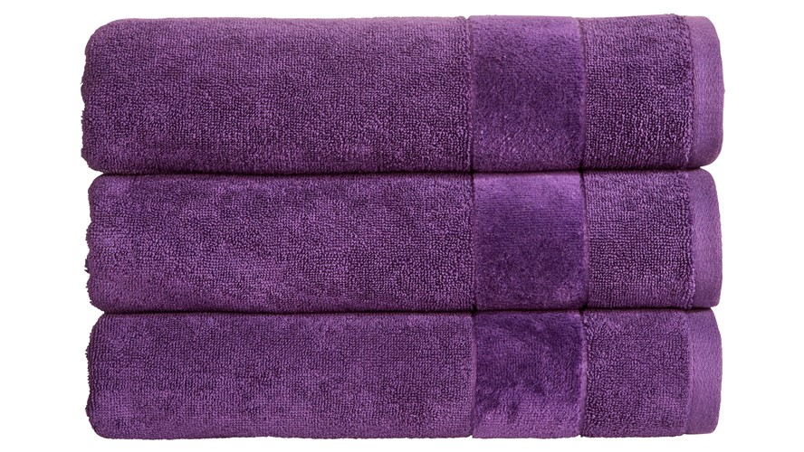 Christy Prism Towel - Crushed Grape