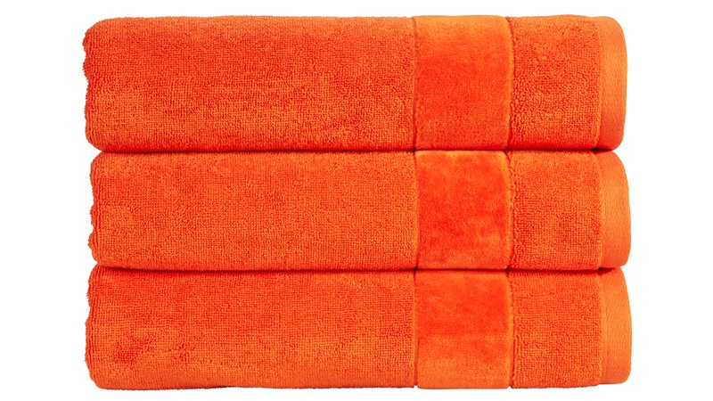 Christy Prism Towel - Orangeade