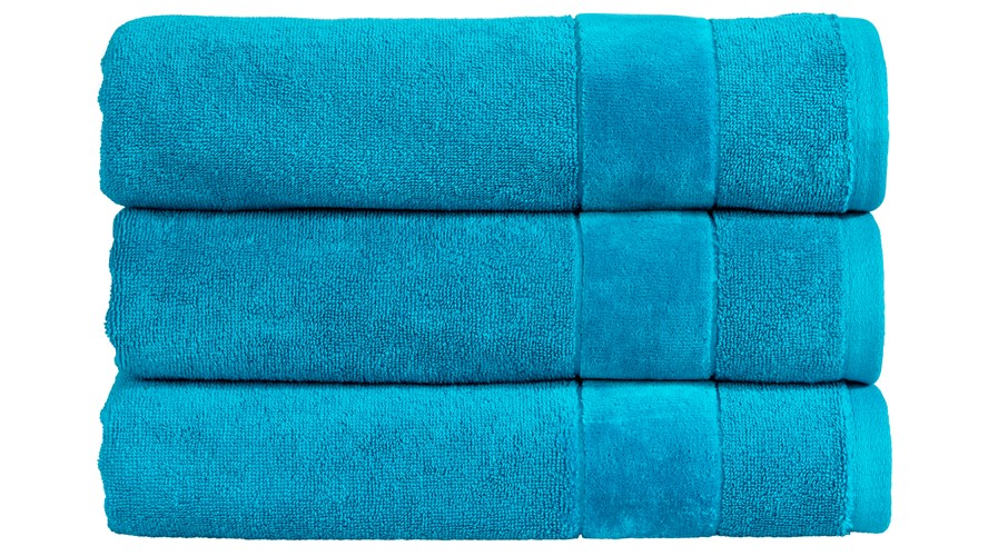 Christy Prism Towel - Poolside Turquoise