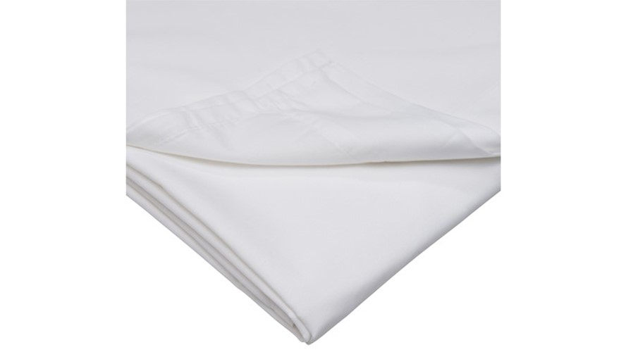 500 Thread Count Fitted Sheet - White