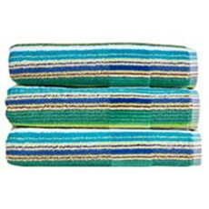Christy Prism Stripe Towel - Jungle