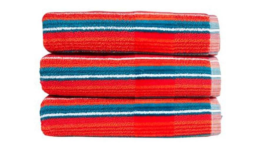 Christy Prism Stripe Towel - Tutti Frutti