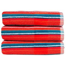 Christy Prism Stripe Towel - Tutti Frutti