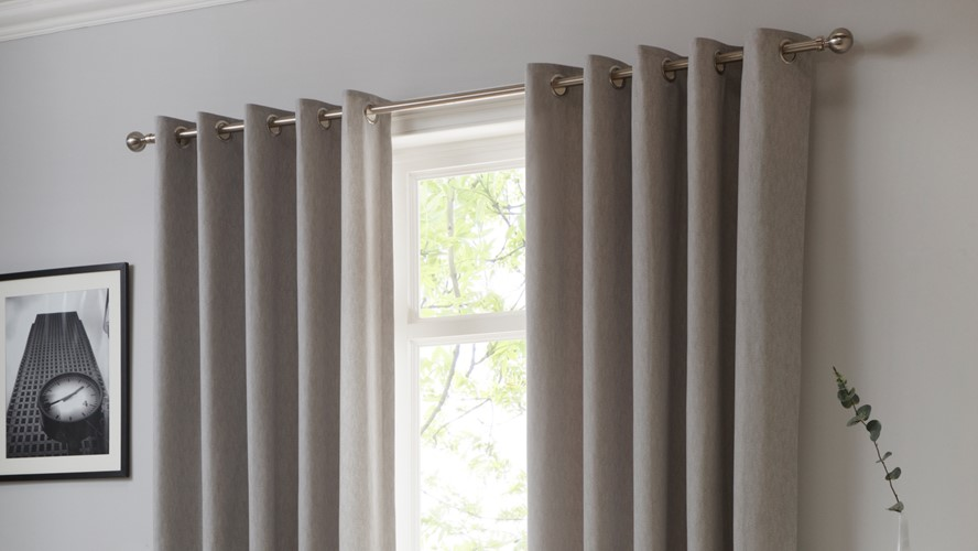Sorbonne Curtains - Silver