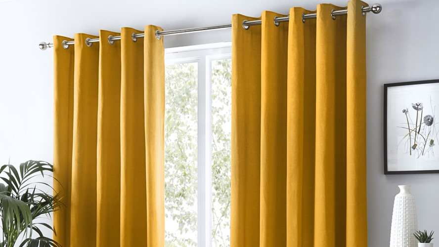 Sorbonne Curtains - Ochre