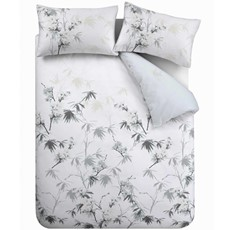 Bianca Kyoto Duvet Set - Grey